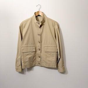 Theory cream cotton jacket
